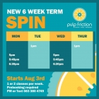 Pulp Friction Nutrition & Fitness Gym Spin Class