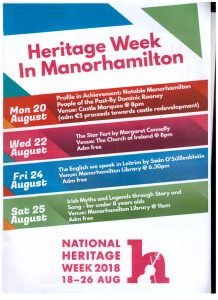 Heritage Week in Manorhamilton
