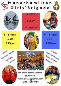 Girls Brigade @ Bee Park Community Centre