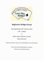 Beginners Bridge Club