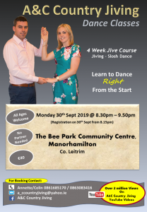 Jiving Classes @ Bee Park Community Centre