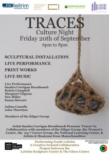 Traces Culture Night @ The Glens Centre