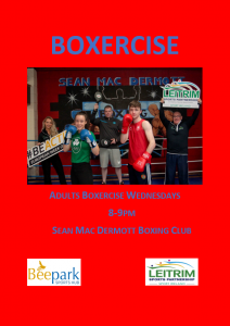 Adult Boxercise @ Sean McDermott Boxing Club