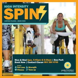 Spin with Ciaran @ Bee Park Community Centre