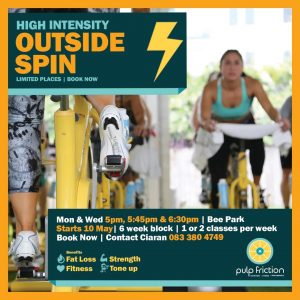 Outdoor Spin with Ciaran @ Bee Park Community Centre