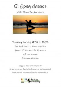 Qi Gong @ Bee Park Community Centre